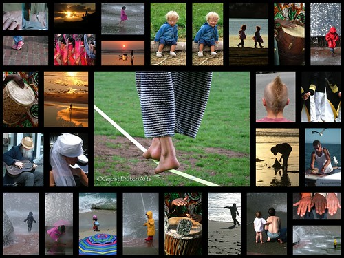 Humanity...Tightrope Collage