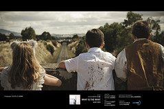 Huckleberry & Me (Micapixel) Tags: bridge children countryside traintracks australia melbourne victoria actor musicvideo productionstills whatsthewhat tarradale latenitefilms photobymichelleleong huckleberryme directedbynicholascollaandmichaelshanks
