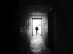 Fort Casey (sparth) Tags: blackandwhite bw silhouette casey blackwhite washington child noiretblanc minimal whidbeyisland wa minimalism washingtonstate couloir 2012 whidbey noirblanc fortcasey