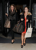 Millie Mackintosh and Louise Thompson- London Fashion Week Spring/Summer 2013