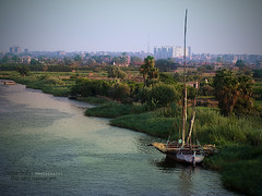 Sailing boat (s@mar) Tags: blue boat sailing sailingboat thenile rivernile