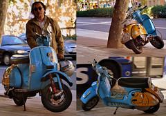 Anatoma de una moto... y de su dueo (Jos Luis Moyano) Tags: vespa moto patn lanaspaintshop vespatn anatomade vesperdidos