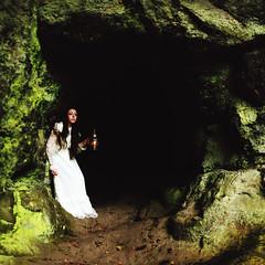 The Recluse (Rebecca Bentliff) Tags: dark lost darkness explore hidden cave lantern recluse cavern searching alderleyedge coppermines rebeccapalmer churchquarry texturebybrookeshaden