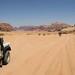 Saindo do deserto em direção ao Mar Vermelho