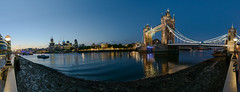 Tower Bridge (Andrew Stawarz) Tags: panorama london skyline night towerbridge river twilight nikon riverthames toweroflondon paralympics d800 adobelightroom explored 12images microsoftice 2470mmf28gedafsnikkor
