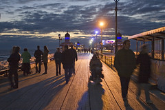 Blackpool North Pier (Lazenby43) Tags: night illumination blackpool fiarground