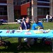 At the involvement fair