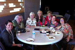 Speaker & Contest Winner Lunch at the FaithLife Women's Conference