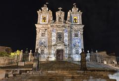 Porto (Leonardo Del Prete) Tags: portugal church night chiesa porto notte oporto azulejos portogallo igrejadesantoildefonso