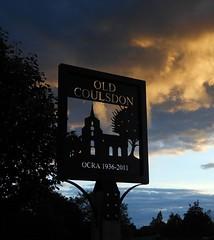 old coulsdon sign dusk (boggled) Tags: sign nikon dusk surrey coolpix ocra oldcoulsdon s6200