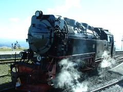 Engine 99236 (Seabagg) Tags: mountain forest train germany railway steam brocken locomotive harz steamengine steamtrain brockenbahn harzmountains 99236
