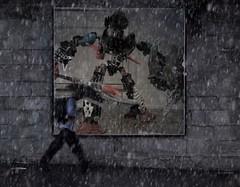 "Modified Photo:  ""Bionicle Street Poster"""