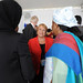 UN Women Executive Director Michelle Bachelet speaks with attendees at the High-level Lunch Event on Strengthening Women's Access to Justice, co-hosted by Finland, South Africa and UN Women