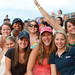 Students at the Lynchburg Hillcats