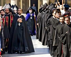 Ejmiatsin Cathedral - The Catholicos is Coming 2 (Grete Howard) Tags: church cathedral religion armenia christianity devotees yerevan liturgy catholicos churchservice divineliturgy ejtmiatsin