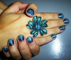 Hand2Hand (Caroline Vargas da Silveira) Tags: nail unhas nailart esmalte clubedoesmalte ombrénail