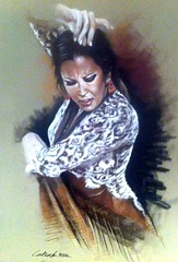 Flamenco (dr_jivago) Tags: pastel spanish espagne flamenco latrache