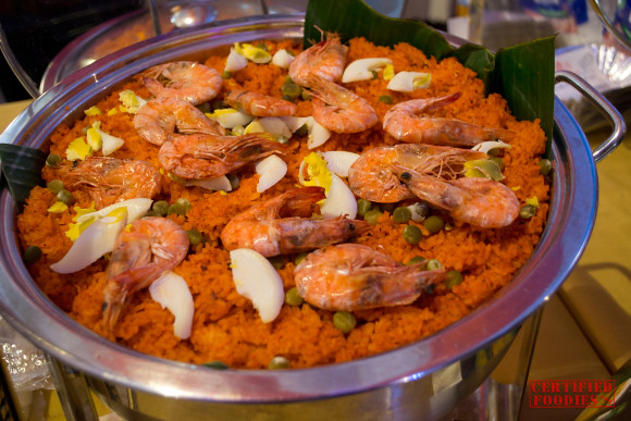 Kusina Reyes' Aligue Rice