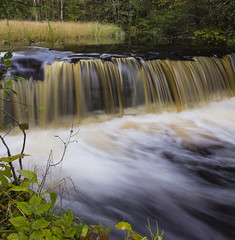 waterfall (Carvalho79) Tags: longexposure water outdoors landscapes waterfall stream autum sweden flowing f4l ef1740mm