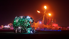 Burning Man 2012-Breaking Wave-La Llorona (extramatic) Tags: usa nv blackrockcity breakingwave lallorona burningman2012fertilityblackrockcitydesertfireartplaya burningman2012fertilityblackrockcitydesertfireartplayaflameburnmanbrceventbm12desertfestivalextramaticzzz