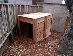 "2-Bin Composter Install • <a style=""font-size:0.8em;"" href=""https://www.flickr.com/photos/87478652@N08/8057928447/"" target=""_blank"">View on Flickr</a>"