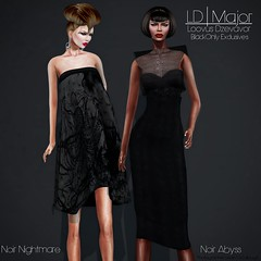 LD Major Black Only (AVENUE Models) Tags: black fashion shopping gold noir mesh event secondlife fashionista patterned shoppaholic vikeejeahxevion loovusdzevavor ldmajor
