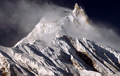 Pinnacle( 7992) of Manaslu, Nepal (Oleg Bartunov) Tags: