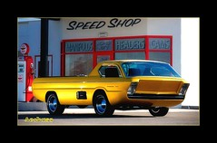 1965 dodge deora concept (AceOBase (thank you for 1.1 million views!)) Tags: show light sunlight hot color art history beautiful yellow america photography rebel golden colorful artist artistic oneofakind ace smooth machine vivid funky icon oldschool delight hotrod dodge concept custom attraction kustom showcar carart bigblock artisticexpression dodgedeora worldcars onewickedride alltypesoftransport photoartbloggroup notafordbutstillonefineauto certifiedcarcrazy 1sweetride idreamofcarsmotorsandhorsepower certifiedtruckcrazy 1965dodge youjustdontseethiseveryday