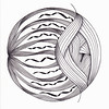 eye of the beholder (Jo in NZ) Tags: ink mandala linedrawing zentangle nzjo