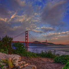 Golden Gate Sunrise (Michael Lawenko dela Paz) Tags: sanfrancisco california travel bridge panorama tourism northerncalifornia america gg colorful gallery awesome bridges glacier pacificocean goldengatebridge bayarea sanfranciscobay upnorth hdr highdynamicrange familyvacation californiacoast beautifulscenery memorable gettyimage beautifulsky ggb yingying 75thanniversary historiclandmark beautifulsunrise travelphotos landscapephotography beautifulmorning 101freeway historicallandmark amazingsky amazingclouds awesomesky travelmagazine californiahistoricallandmarks megastructures impressedbeauty engineeringbeauty amazingbridge amazingsunrise top20bridges aaatravel colorfulcountry amazingstructures awesomesunrise familyfriendlytravel bestcapturesaoi elitegalleryaoi claireyingho michaeldelapazphotography  goldengatefreeway americasbestarchitecture