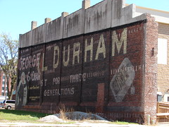 Henry George/Bull Durham (David Sebben) Tags: illinois advertisement faded pouch cigars preserved tobacco bulldurham ghostsign galesburg henrygeorge