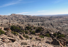The Haystacks (Walks On Rocks) Tags: fall october erosion badlands wyoming barren arid 2012 reddesert