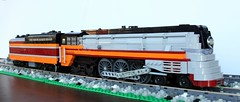 Milwaukee Road F7 4-6-4 Baltic (swoofty) Tags: train lego baltic milwaukee hiawatha alco f7 464