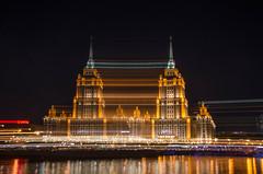 The Twins (Syuqor7) Tags: longexposure light summer beautiful night amazing russia moscow slowshutter lighttrail