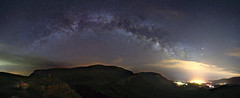 Milky Way over Demerdzhi plateau (Mike Reva) Tags: sky nature night stars nightscape satellite ngc astro astrophotography nights astronomy nightsky seashore stillness crimea astrophoto stargazing cassiopea saggitarius samyang nghtsky demerdzhi astrometrydotnet:status=failed samyang24mm samyang24 astrometrydotnet:id=nova1647899