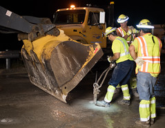 D6084_CM-250 (MoDOT Photos) Tags: nightworkzone modot i70 exitramp bycathymorrison d6084 maintenance concretereplacement heavyequipment safetygear harthats safetyglasses reflectiveshirts lights cones saw midway missouri