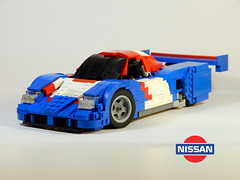 1989 Nissan R89C Race Car (Alexander Paschoaletto) Tags: nissan r89c race car