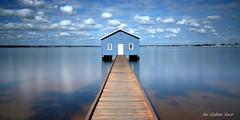 Crawley Edge Boatshed (An Gobn Saor) Tags: crawleyedgeboatshed crawley perth boat jetty boatshed shed peternattrass nattrass wa westernaustralia australia angobnsaor gobnsaor