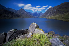 Black Cuillins from Loch Coruisk (Craig Hannah) Tags: lochcoruisk cuillins cuillinridge blackcuillin mountain skye scotland longexposure clouds loch craighannah bigstopper rocks august 2016 uk