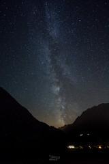 Voie Lacte - Vollges (thierry.ebener) Tags: verbier bagnes entremont nuit etoiles stars voie lacte voielactee milkyway