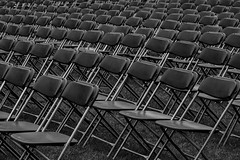 Rows of empty seats before a memorial day service (Jim Corwin's PhotoStream) Tags: absence abundance arrangement before ceremony chair chairs empty emptyseats event furniture horizontal inarow largegroupofobjects loneliness manmadeobjects meeting memorialevent nobody outdoors pattern patterns peaceful photography quiet repeating repetition row rows seat setup settingup shapes solitude
