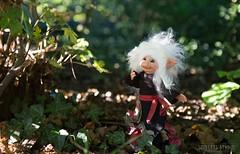 Troll Melanie (Shirleys Studio | Handmade Art Dolls) Tags: shirleysstudio shirleys studio beeldende kunst art artist grotto troll ooak dolls trollen trolletjes boswezens fantasy doll artdoll trol trolls figurine handmade