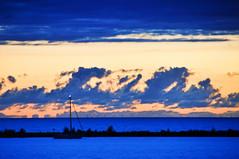 DSC_6419 (Herman Verheij) Tags: sunset zonsondergang markermeer lelystad