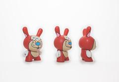 Stimpy Series (WuzOne) Tags: wuzone custom dunny diy kidrobot munny painting vinyl vinyltoy toy geek collectible cartoon stimpy thewuz onsale acrylic