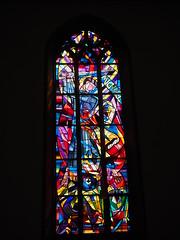 Erzengel Michael v. Harry McLean (1elf12) Tags: harrymclean harrymaclean badenbaden spitalkirche church fenster window michael angel engel erzengel archangel stainedglass vitraux germany deutschland