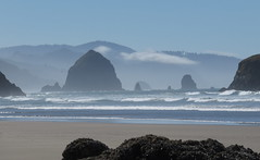 starting to cloud up (carolyn_in_oregon) Tags: oregon pacificocean ecolastatepark coast crescentbeach