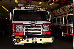 Alert Fire Company Engine 824 (Triborough) Tags: ny newyork nassaucounty greatneck afc afc1 alerfirecompany alertfirecompanyno1 firetruck fireengine engine engine824 pierce velocity