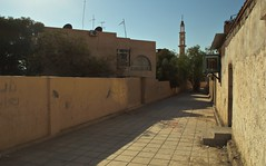 Aqaba Neighbourhood (Yazan_) Tags: street slum favela bag3a baq3a aqaba beach mosque trees