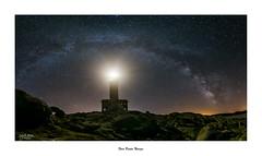 Milky Way... (Canconio59) Tags: faro puntanariga vialactea malpica galicia espaa spain estrellas panormica milkyway