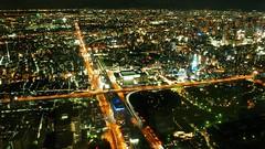 Tennoji area from Harukas tower (coniferconifer) Tags: tennoji night nightscape japan osaka    harukas shinsekai